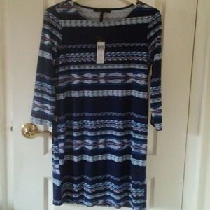 BCBGMaxAzriaBohoBatik3/4SleeveDress